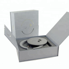 Custom Two Side Book Shape Closure Paper Box