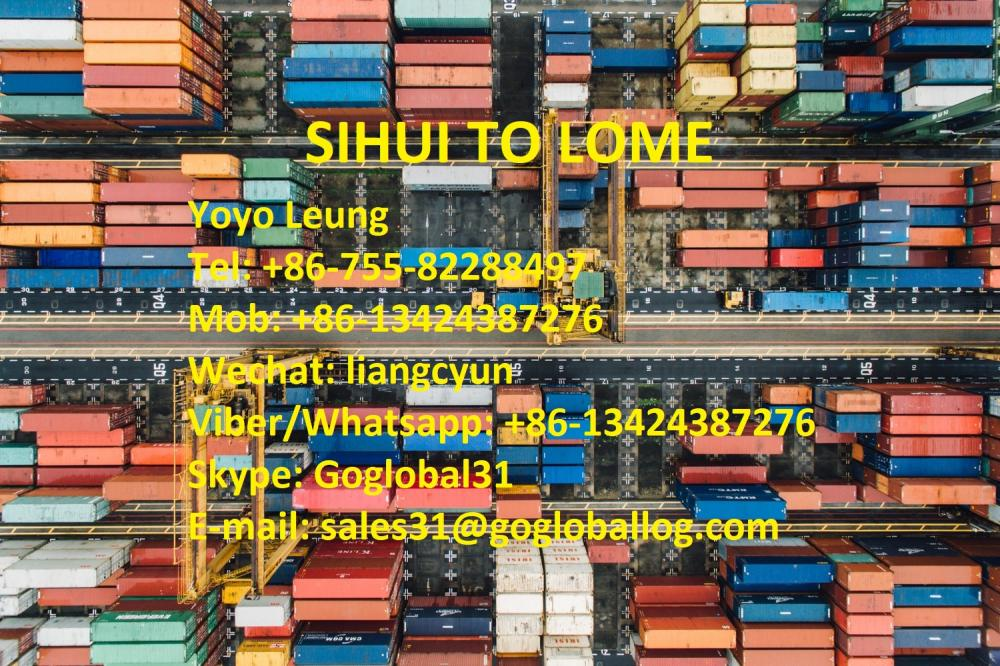 Zhaoqing Sihui Sea Freight to Togo Lome