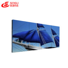 Narrow bezel lcd video wall tv wall