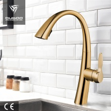 Hot Cold Water Swivel Spout Pullout Kitchen Faucet