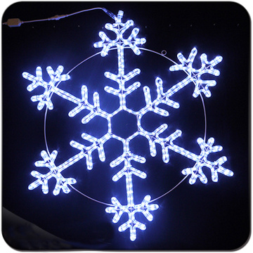 LED waterproof decoration big snowflake light