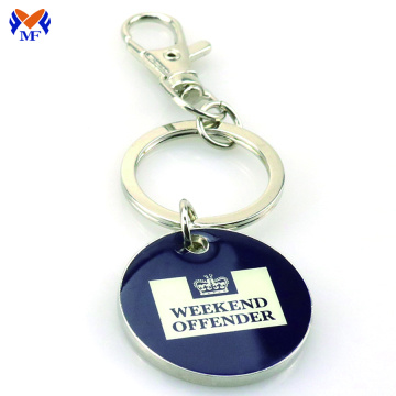 Wholesale custom keychain with logo