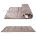 New Suede material Camping Folding Single Bed Portable Folding Bed mat