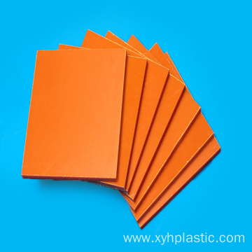 Thickness 20mm Single Side Dull Polish Bakelite Sheet