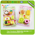 student food series eraser