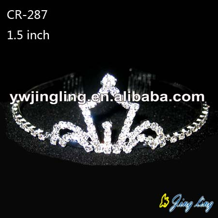 Pageant Crown Tiara CR-287