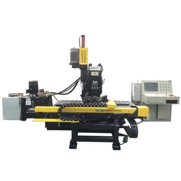 Hydraulic Hole Punching Machine for Angle Plate