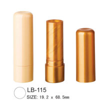 Empty Round Lip Balm Tube