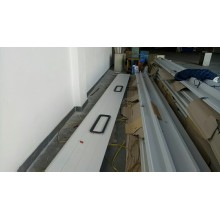 overhead sectional door for dock