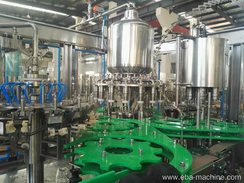 5000BPH Small Orange Juice Bottling Filling Machine