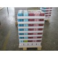 4 Pieces Per Package Tray Packed Colored Pillar Candles