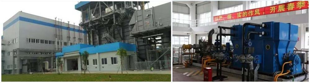 High temperature and high pressure extraction steam turbine