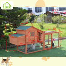 Waterproof fir wood outdoor chicken coop