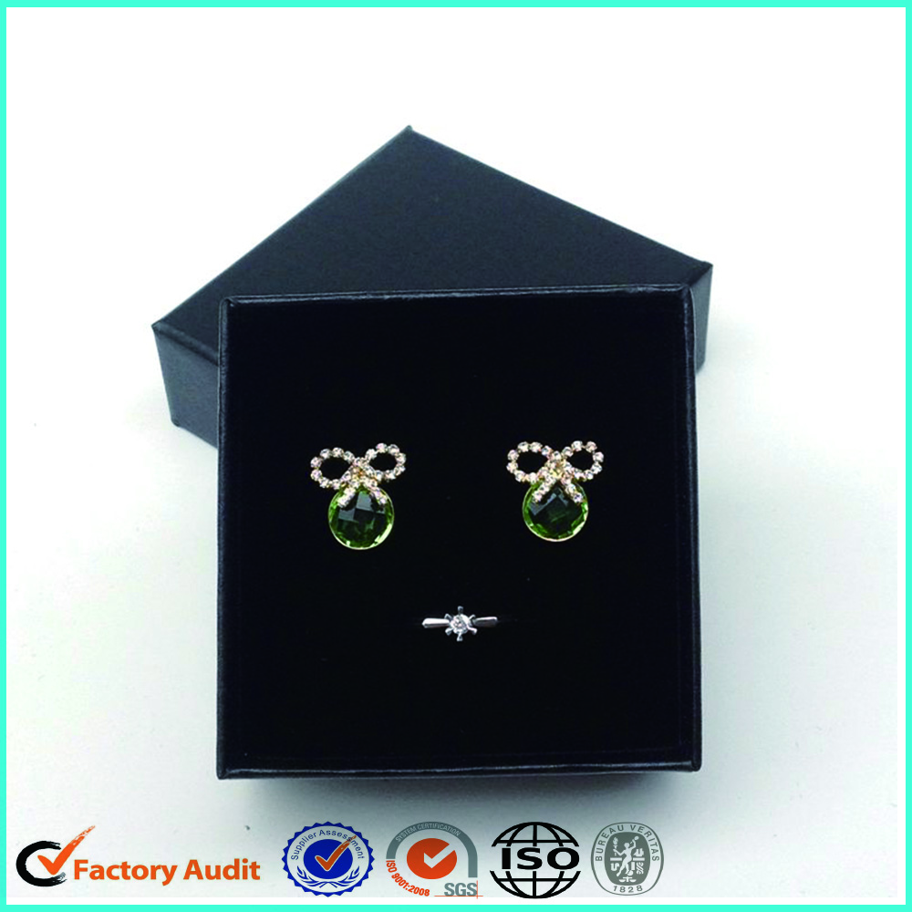 Black Earrings Jewelry Boxes