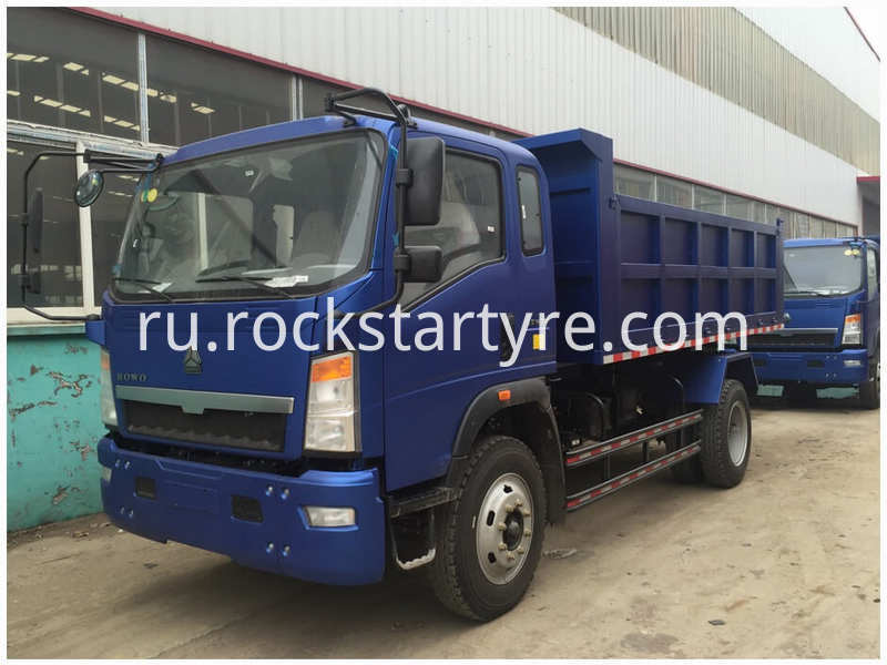 Sinotruk Howo Light Dump Truck