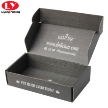 Custom foldable packing box for food
