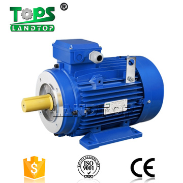IE1 IE2 Three Phase Aluminum Housing Electric Motor
