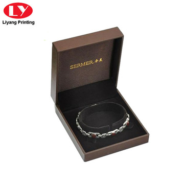 Cardboard Bracelet Gift Box Elastic Close
