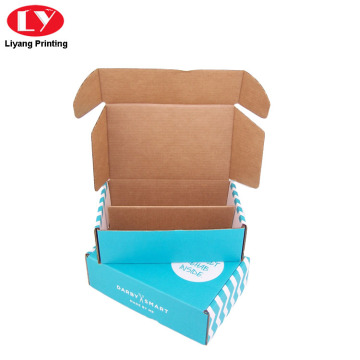 Rigid Corrugated Shipping Box for  Accessories Packaging