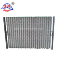 waved vibrating screen mesh/waved shale shaker screen/oil field screen