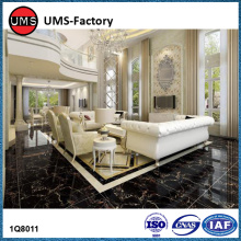 OEM/ODM for Marble Effect Porcelain Tiles Black gloss marble effect ceramic floor tiles supply to South Korea Manufacturers