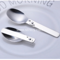 Multifunction Folding Stainless Steel Spoon Cutlery Spoon