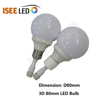E27 Waterproof LED Bulb Dynamic DMX 512 Control