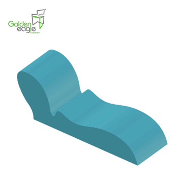 European Style Outdoor Lounge PU Foam without Frame