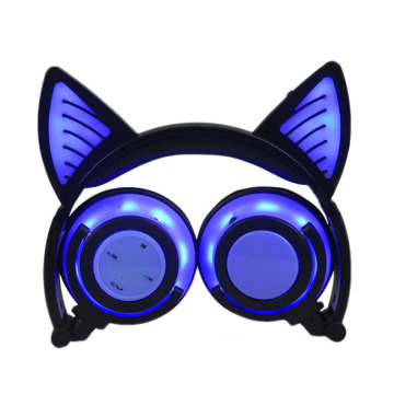 Christmas gifts lighting cute cat ear headset