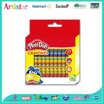 Play-Doh 24-color crayons