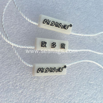 Strong Pull Plastic Seal Tags for Garment