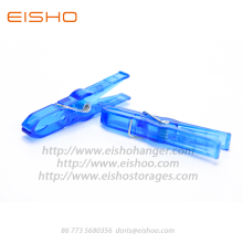 Good Quality for White Plastic Clips EISHO Colored Mini Plastic Clothespins For Laundry supply to United States Factories