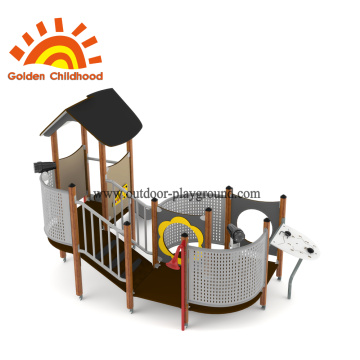 HPL custom size outdoor playhouse