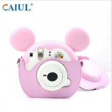 Hot selling attractive price for Cat Eye Camera Bag Pink Cute Polaroid Protection Bag export to Spain Importers