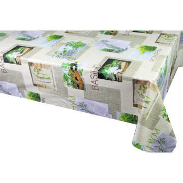 Qatar Elegant Tablecloth with Non woven backing
