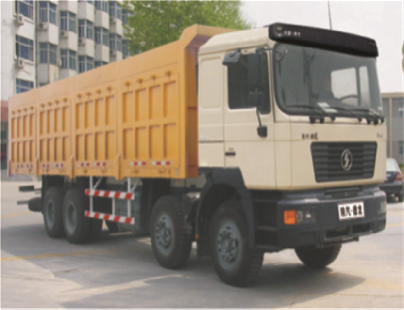 Shacman 8X4 380HP tipping truck with weichai engine dump truck shacman