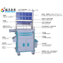Anesthetic vehicles cart price