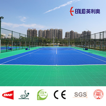 Special for PP Interlocking Court Tiles Outdoor Tennis Court Portable Flooring supply to United States Factories