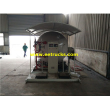 10000 Liters Mobile Cooking Gas Skid Stations