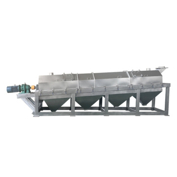 High efficiency rotary screen for mining