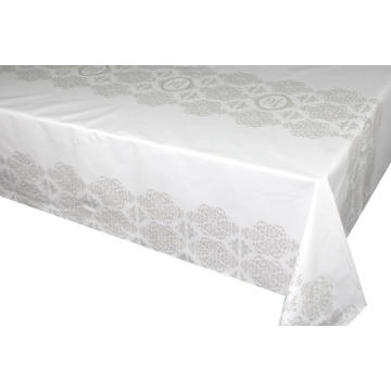 Below Elegant Tablecloth with Non woven backing