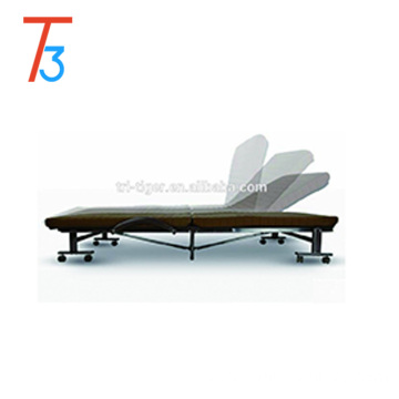 Rollaway portable folding sofa bed with high performance