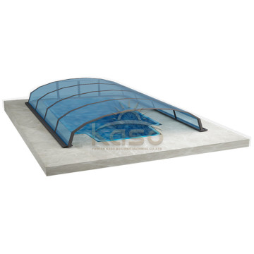 Leading for Retractable Pool Enclosure Conservatory Sunroom Glass Roof Swimming Pool Enclosures export to Virgin Islands (U.S.) Manufacturers
