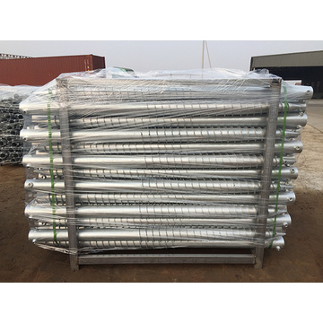 Solar Ground Screw Piles