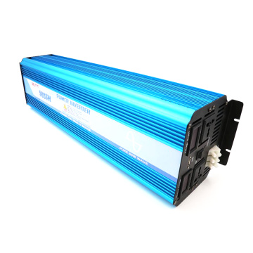 5000W 12V/24VDC to 110V/220VAC Pure Sine Wave Inverter