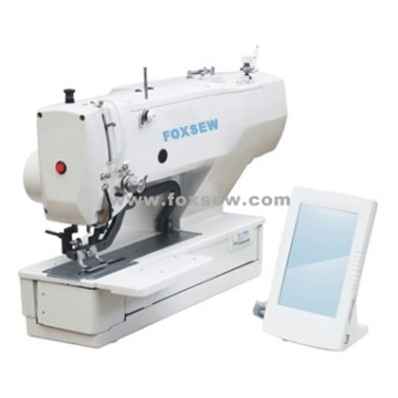 Direct-Drive Computer-controlled Button Hole Sewing Machine