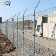 China OEM for  triangle bending wire mesh fencing panels and gate export to Iceland Manufacturers