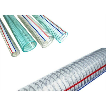 PVC steel wire reinforced hose/pipe extrusion line