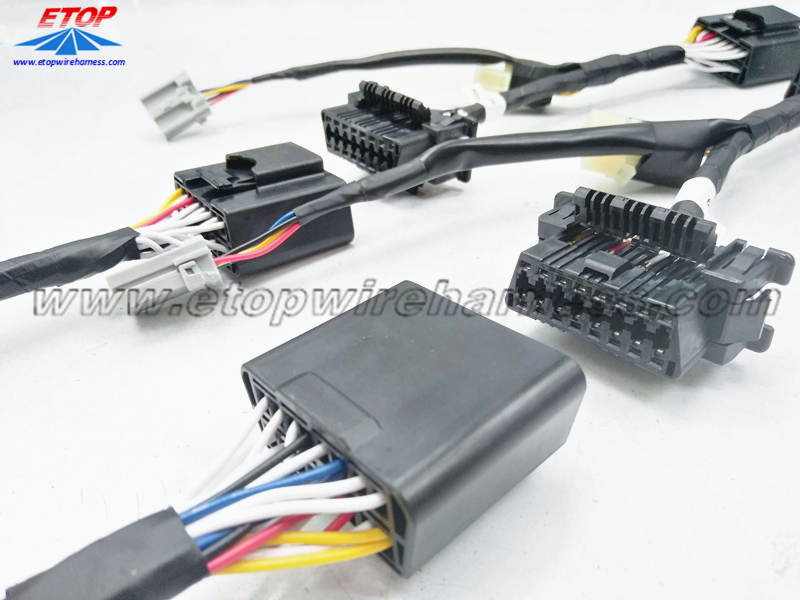crimping type OBD connector