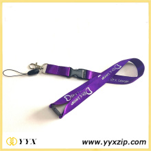 Fine Nylon Lanyard with 1 Color Print